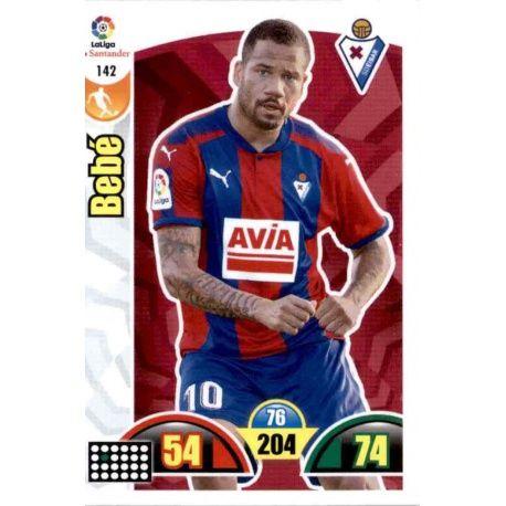 Bebé Eibar 142 Cards Básicas 2017-18