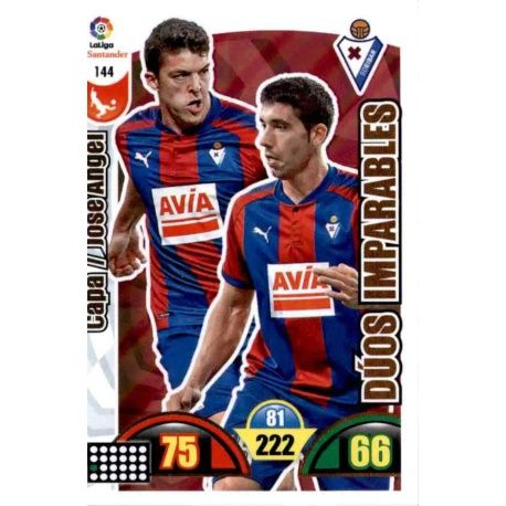 Capa / José Ángel Eibar 144 Cards Básicas 2017-18