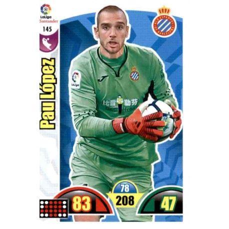 Pau López Espanyol 145 Cards Básicas 2017-18