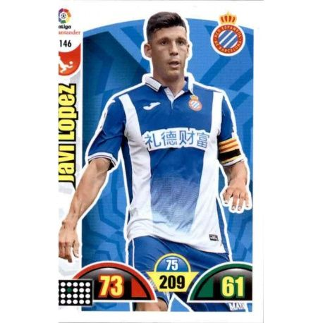 Javi López Espanyol 146 Cards Básicas 2017-18