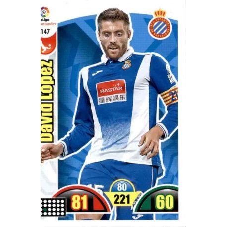 David López Espanyol 147 Cards Básicas 2017-18
