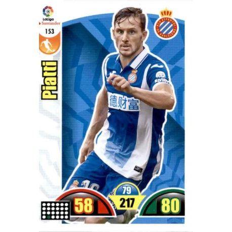 Piatti Espanyol 153 Cards Básicas 2017-18