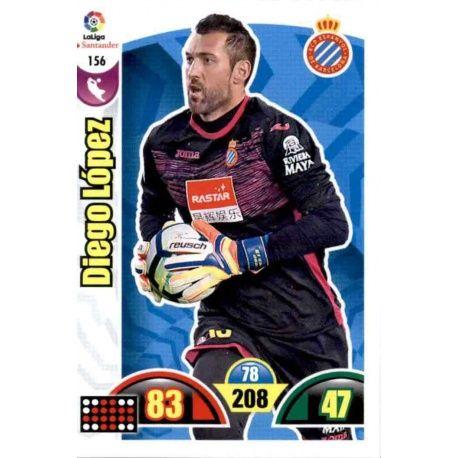 Diago López Espanyol 156 Cards Básicas 2017-18