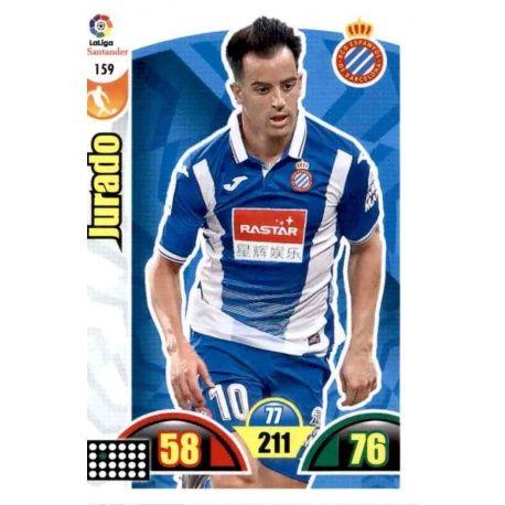 Jurado Espanyol 159 Cards Básicas 2017-18