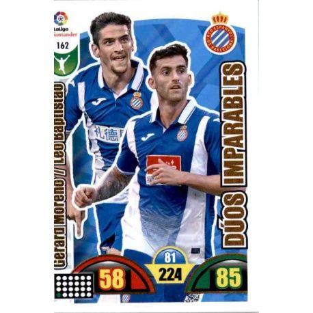 Gerard Moreno / Leo Baptistao Espanyol 162 Cards Básicas 2017-18