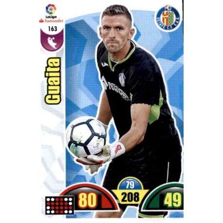 Guaita Getafe 163 Cards Básicas 2017-18
