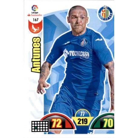 Antunes Getafe 167 Cards Básicas 2017-18