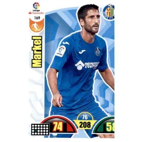 Markel Getafe 169 Cards Básicas 2017-18
