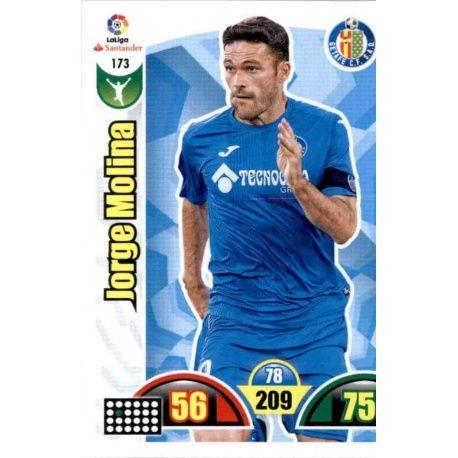 Jorge Molina Getafe 173 Cards Básicas 2017-18