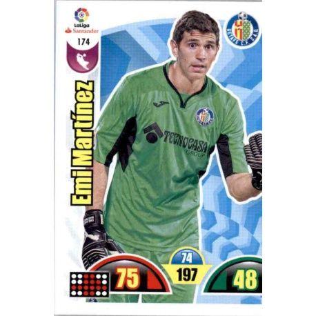 Emi Martínez Getafe 174 Cards Básicas 2017-18