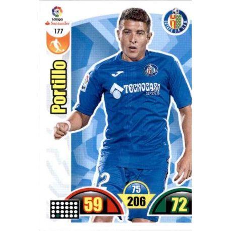 Portillo Getafe 177 Cards Básicas 2017-18