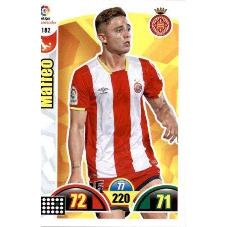Maffeo Girona 182 Cards Básicas 2017-18