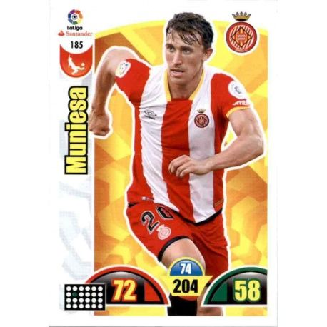 Muniesa Girona 185 Cards Básicas 2017-18