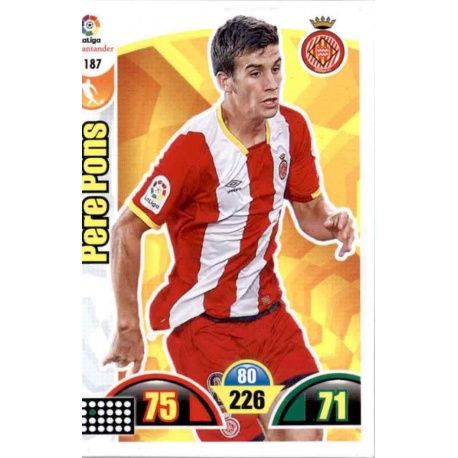 Pere Pons Girona 187 Cards Básicas 2017-18