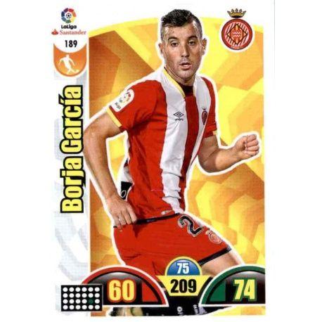 Borja García Girona 189 Cards Básicas 2017-18