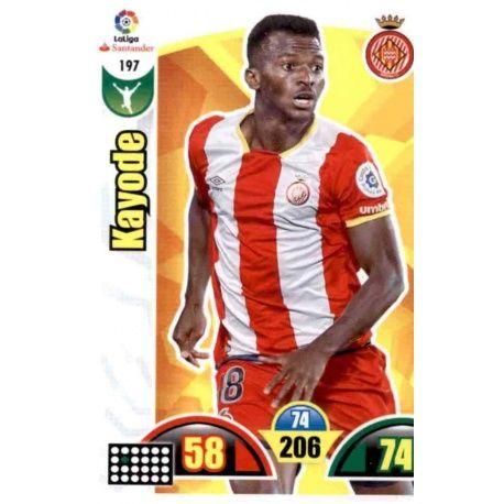 Kayode Girona 197 Cards Básicas 2017-18