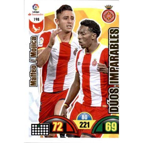 Maffeo / Mojica Girona 198 Cards Básicas 2017-18