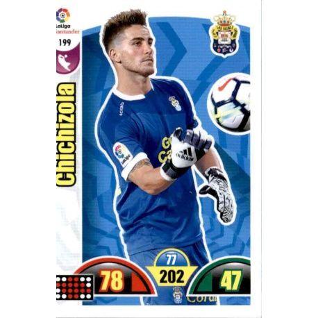 Chichizola Las Palmas 199 Cards Básicas 2017-18