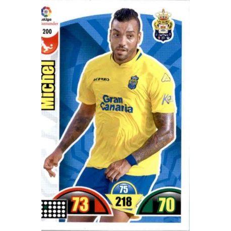 Michel Las Palmas 200 Cards Básicas 2017-18