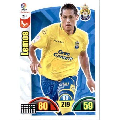 Lemos Las Palmas 201 Cards Básicas 2017-18