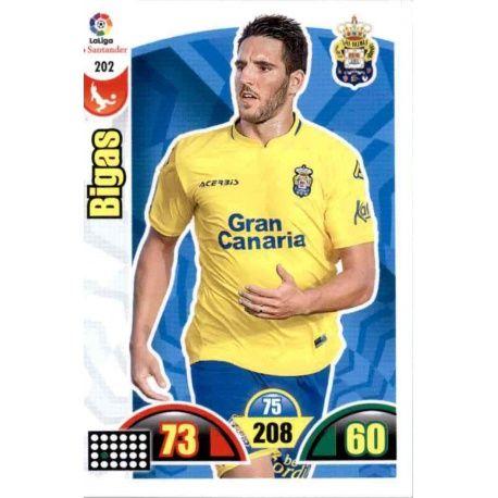 Bigas Las Palmas 202 Cards Básicas 2017-18