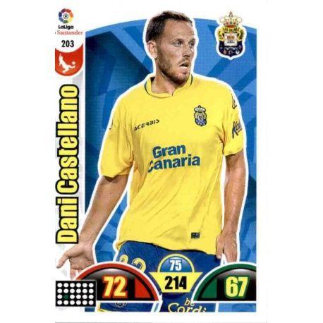 Dani Castellano Las Palmas 203 Cards Básicas 2017-18