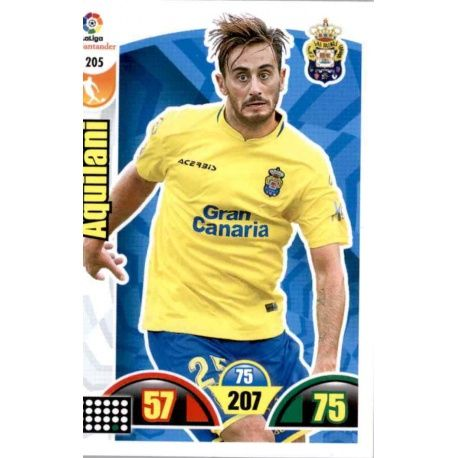 Aquilani Las Palmas 205 Cards Básicas 2017-18