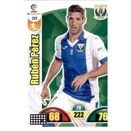 Rubén Pérez Leganés 222 Cards Básicas 2017-18