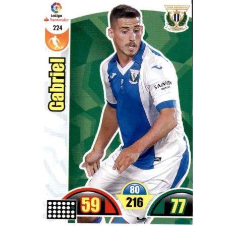 Gabriel Leganés 224 Cards Básicas 2017-18