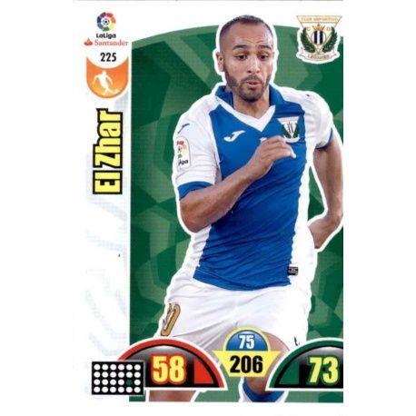 El Zhar Leganés 225 Cards Básicas 2017-18