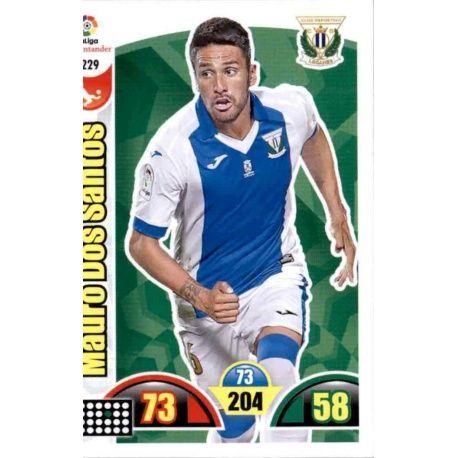 Mauro Dos Santos Leganés 229 Cards Básicas 2017-18
