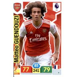 Matteo Guendouzi Arsenal 11 Adrenalyn XL Premier League 2019-20