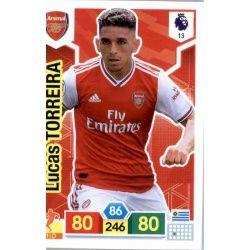 Lucas Torreira Arsenal 13 Adrenalyn XL Premier League 2019-20