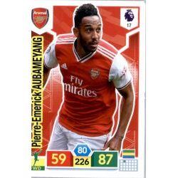 Pierre-Emerick Aubameyang Arsenal 17 Adrenalyn XL Premier League 2019-20