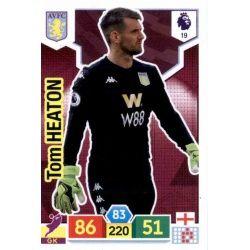 Tom Heaton Aston Villa 19 Adrenalyn XL Premier League 2019-20