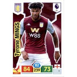 Tyrone Mings Aston Villa 21 Adrenalyn XL Premier League 2019-20