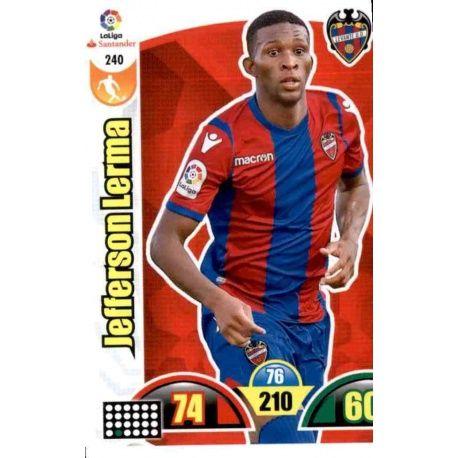 Jefferson Lerma Levante 240 Cards Básicas 2017-18