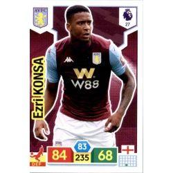 Ezri Konsa Aston Villa 27 Adrenalyn XL Premier League 2019-20