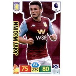 John McGinn Aston Villa 29 Adrenalyn XL Premier League 2019-20
