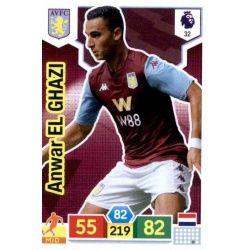 Anwar El Ghazi Aston Villa 32 Adrenalyn XL Premier League 2019-20