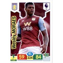 Wesley Morales Aston Villa 34 Adrenalyn XL Premier League 2019-20