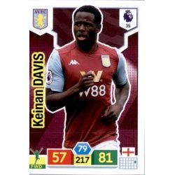 Keinan Davis Aston Villa 35 Adrenalyn XL Premier League 2019-20