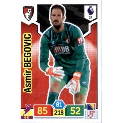 Asmir Begovic AFC Bournemouth 37 Adrenalyn XL Premier League 2019-20