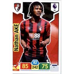 Nathan Aké AFC Bournemouth 40 Adrenalyn XL Premier League 2019-20