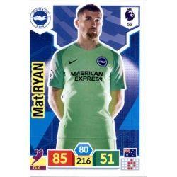 Mathew Ryan Brighton & Hove Albion 55 Adrenalyn XL Premier League 2019-20