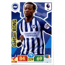 Gaëtan Bong Brighton & Hove Albion 56 Adrenalyn XL Premier League 2019-20