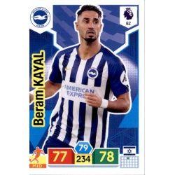 Beram Kayal Brighton & Hove Albion 62 Adrenalyn XL Premier League 2019-20