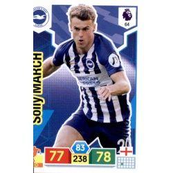 Solly March Brighton & Hove Albion 64 Adrenalyn XL Premier League 2019-20