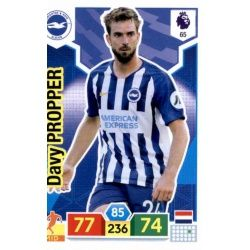 Davy Pröpper Brighton & Hove Albion 65 Adrenalyn XL Premier League 2019-20
