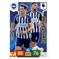 Shane Duffy - Lewis Dunk Brighton & Hove Albion 72 Adrenalyn XL Premier League 2019-20